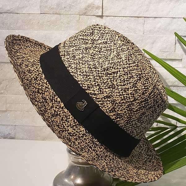 Classic Sand Storm | Brown & Natural | Panama Hat