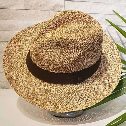 Classic Storm | Brown & Natural | Panama Hat