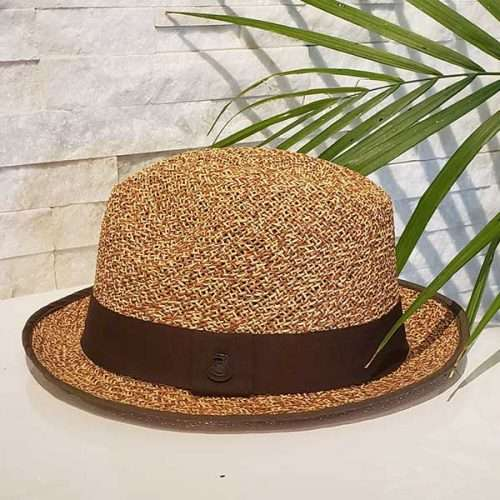Sand Storm | Brown & Natural | Panama Hat