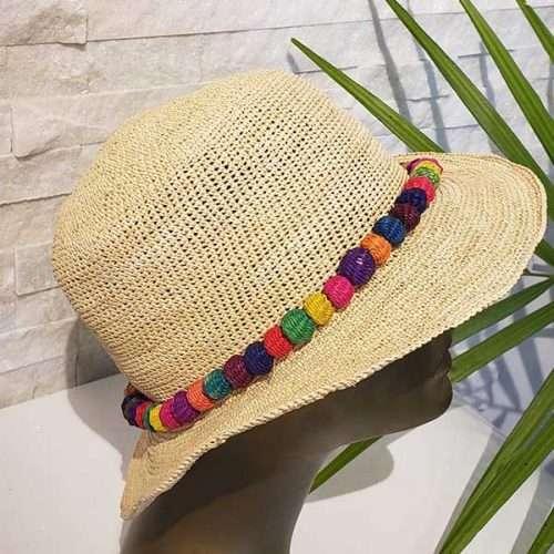 Beach Raffia | Natural | Panama Hat