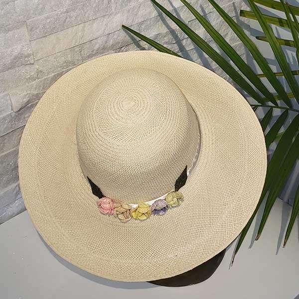 Wide Brim | Off-White | Panama Hat
