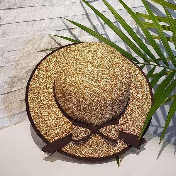 Morning Shadow | Brown & Natural | Panama Hat