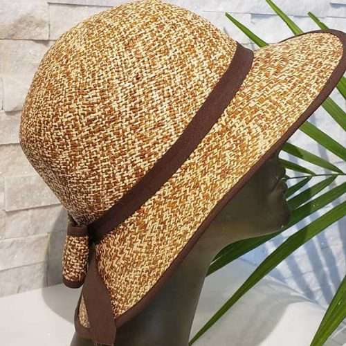 Morning Shadow | Brown & Natural | Panama Hat
