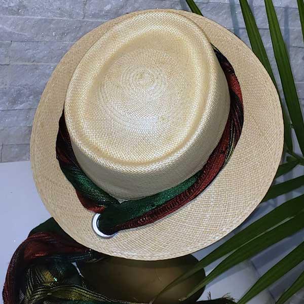Scarf Dumont | Natural | Panama Hat