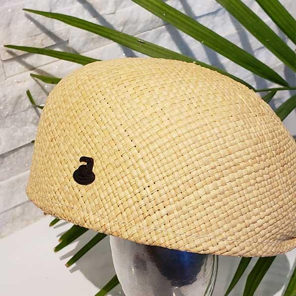 Flat Cap | Natural | Panama Hat