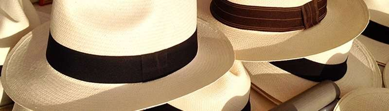 outdoors panama hat