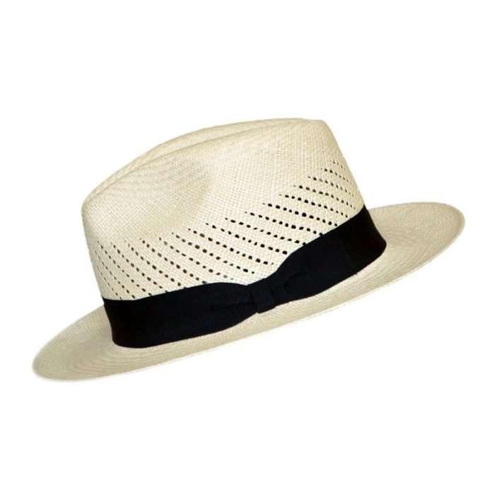 Classic Panama Hat Calado side