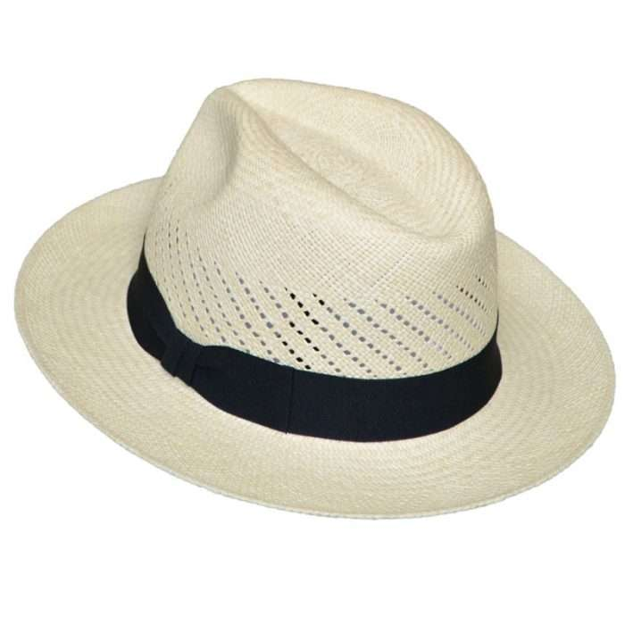 Classic Panama Hat Calado back