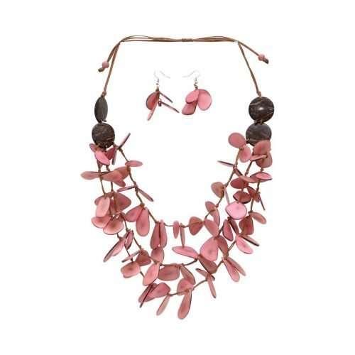 Sunset Breeze Pink Tagua Art