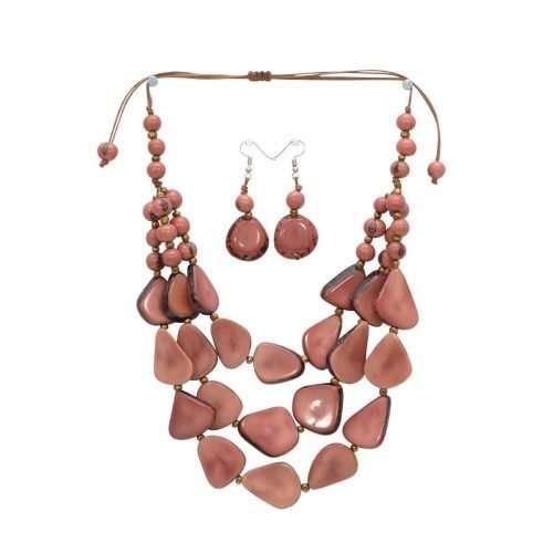 Tropical Mist Pink Tagua Art